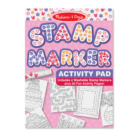 M&D Pink Stamp Activity Pad