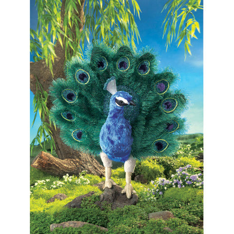 Folkmanis Peacock Puppet