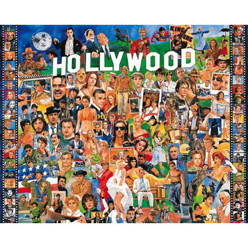 White Mountain Hollywood Puzzle