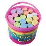Toysmith Bucket of Sidewalk Chalk