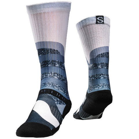 Strideline Socks Optics Moon White One Size