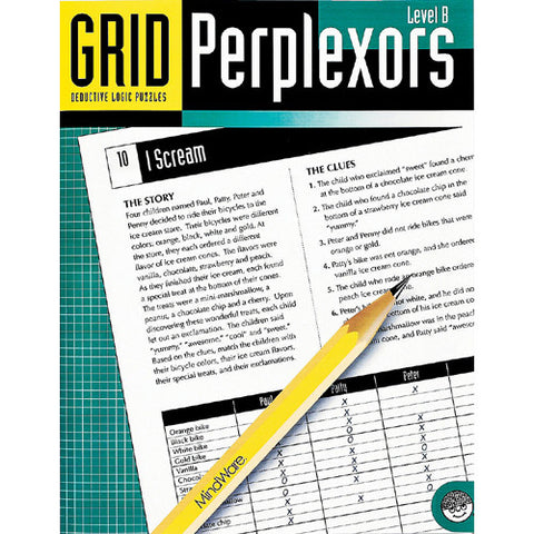 Mindware Grid Perplexors Level B