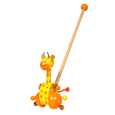 Babalu Giraffe Push Along