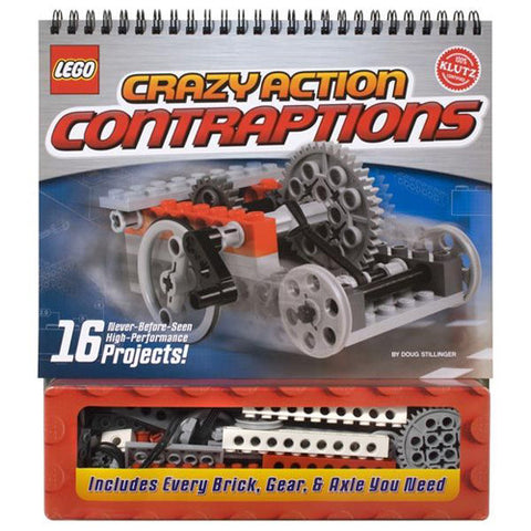 Klutz Lego Crazy Action Contraptions Boo