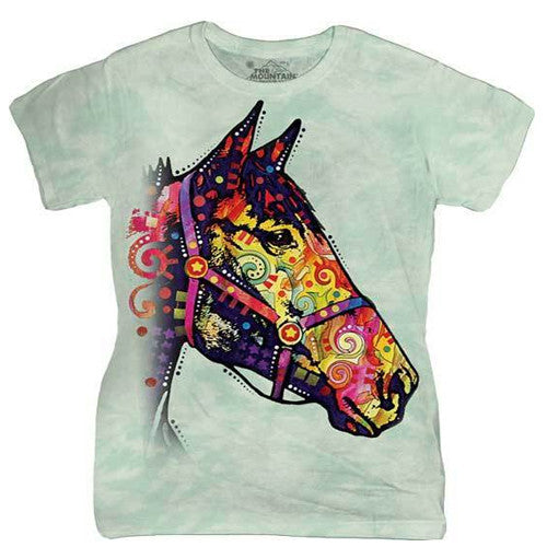 The Mountain Wos Tee S/S Funky Horse Medium