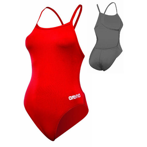 Arena Mast One-Piece Red/Silver 34
