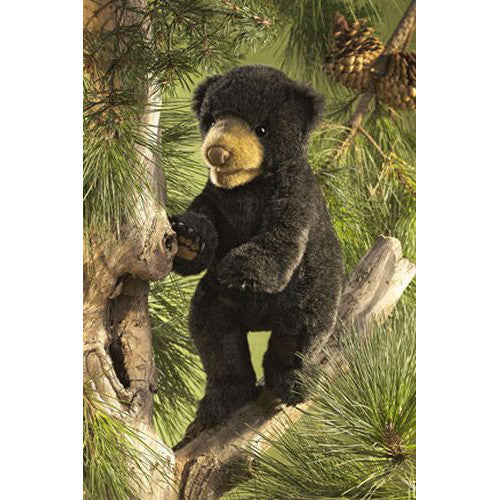 Folkmanis Black Bear Cub