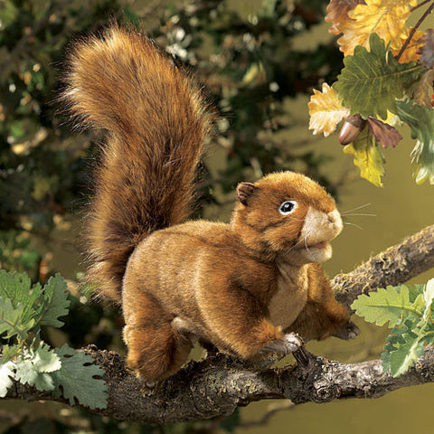 Folkmanis Red Squirrel Puppet
