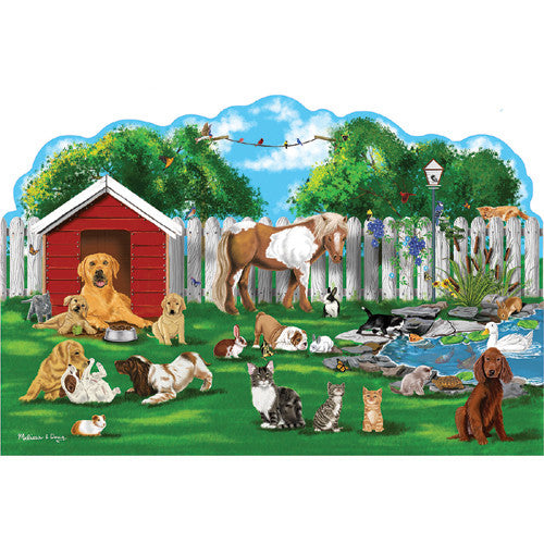 M&D Pet Party Shaped Floor Puzzle