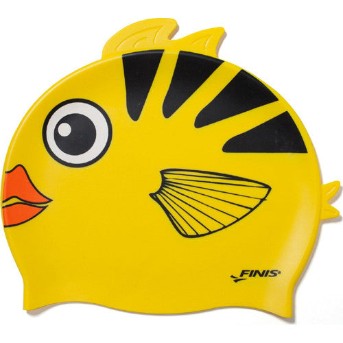 Finis Animal Heads Silicone Caps Angel Fish