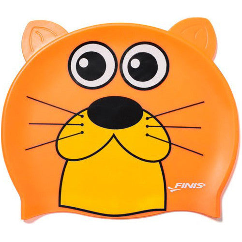 Finis Animal Heads Silicone Caps Otter