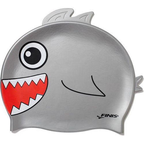 Finis Animal Heads Silicone Caps Shark