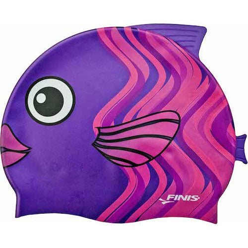Finis Animal Head Silicone Cap Coral Fish
