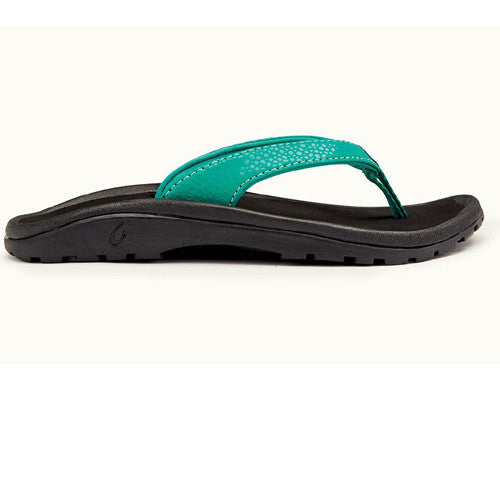 Olukai Girls Kulapa Mermaid Black 2/3 Kids Size