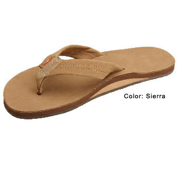 Rainbow Mens Leather Wide Strap Sandal Sierra Small