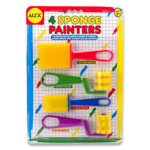 Alex Sponge Brushes & Roller