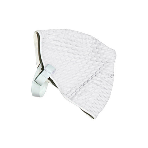 Sprint Bubble Swim Cap with Strap Medium White