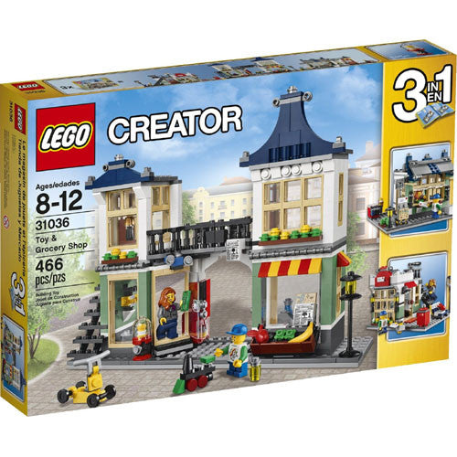 Lego Creator Toy & Grocery Shop