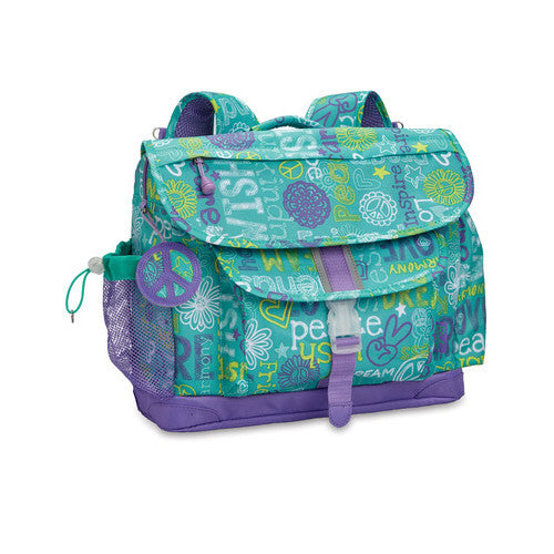Bixbee Hope Peace Love Backpack