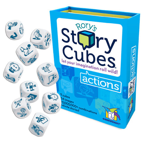 Gamewright Rory's Story Cubes Actions