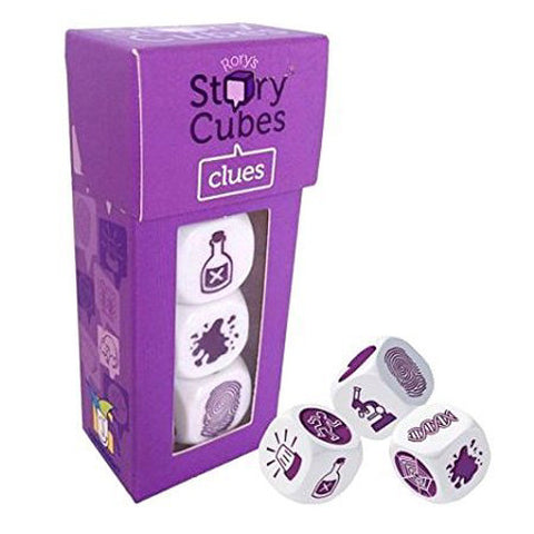 Gamewright Rory's Story Cubes Clues