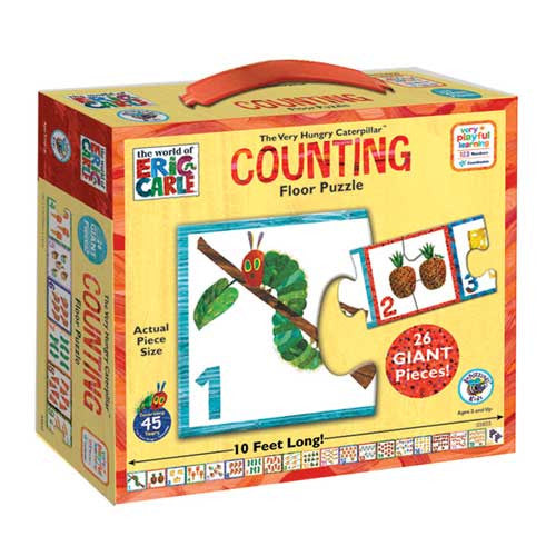 University Games Eric Carle Counting Puz