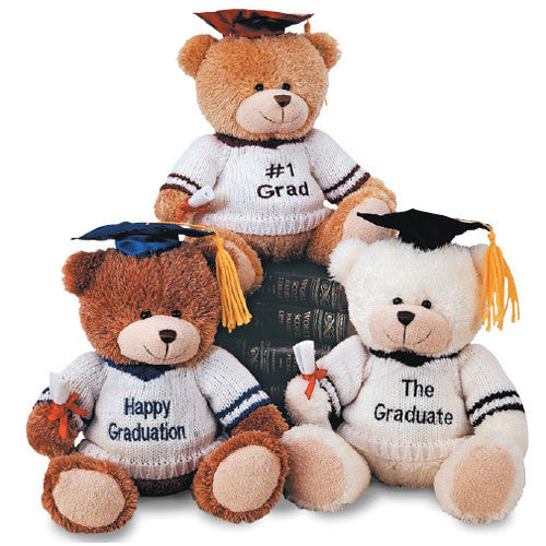 "B Everywhere 10"" Sweater Graduation Bear"