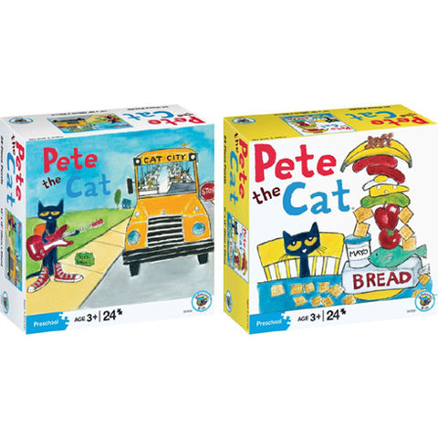 University Pete the Cat Puzzle Assorted