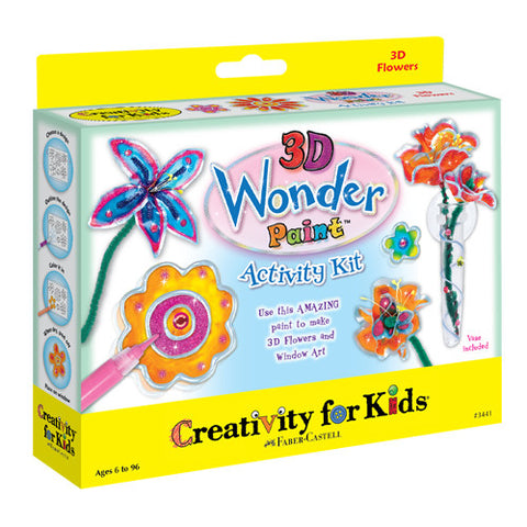 Creativity 3D Wonder Paint 3D Flowers