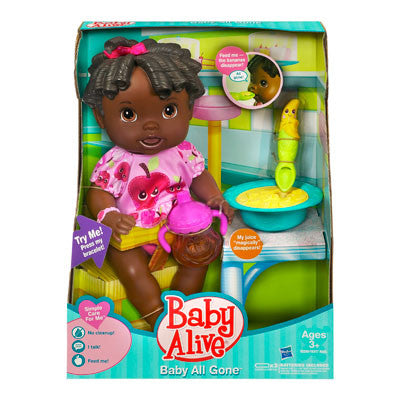 Baby Alive AfricanAmn Baby All Gone Doll