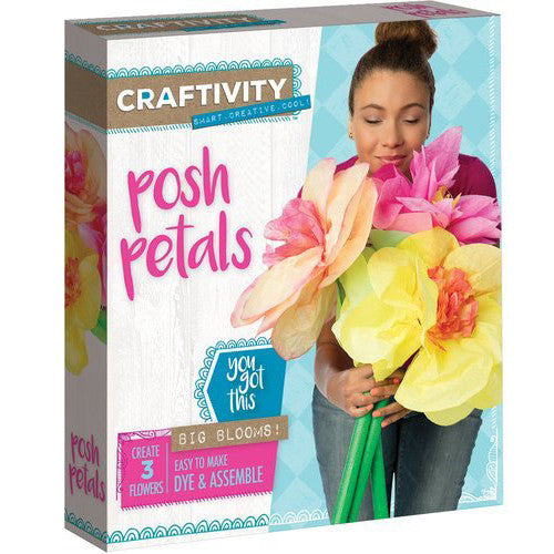 Creativity Craftivity Posh Petals