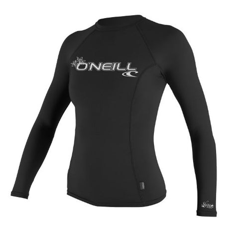 O'Neil Wos Rashie L/S Basic Black Medium