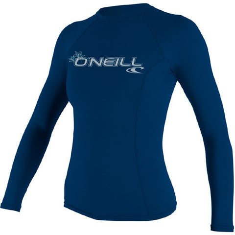 O'Neill Wos Rashie L/S Basic Royal Medium