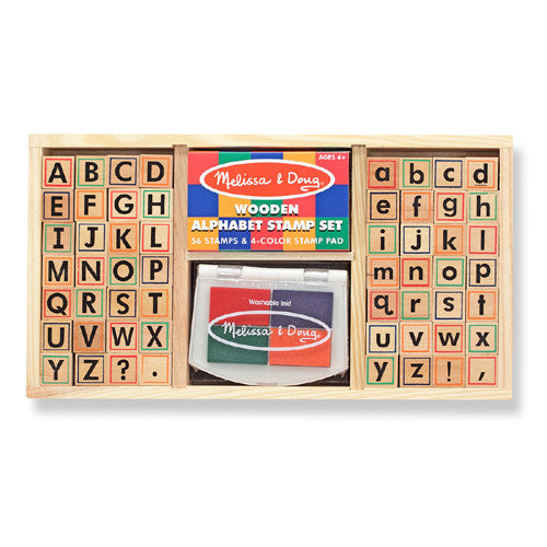 M&D Alphabet Stamp Set