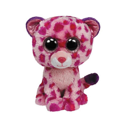 TY Glamour the Pink Leopard Small