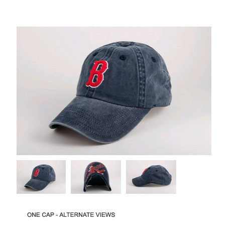 American Needle New Raglin Boston Red Sox One Size Fits All