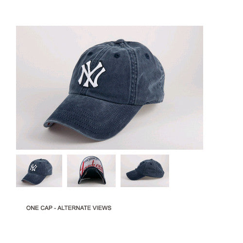 American Needle New Raglin New York Yankees One Size Fits All