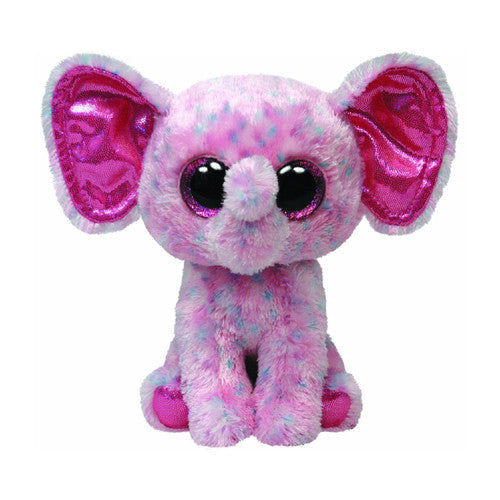 TY Ellie the Pink Speckled Elephant Smal