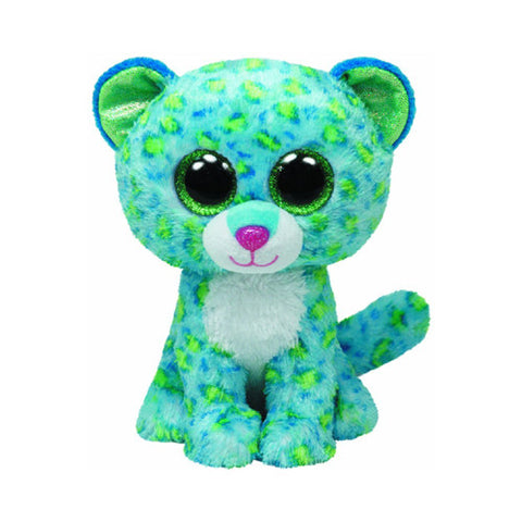 TY Leona the Blue Leopard Small