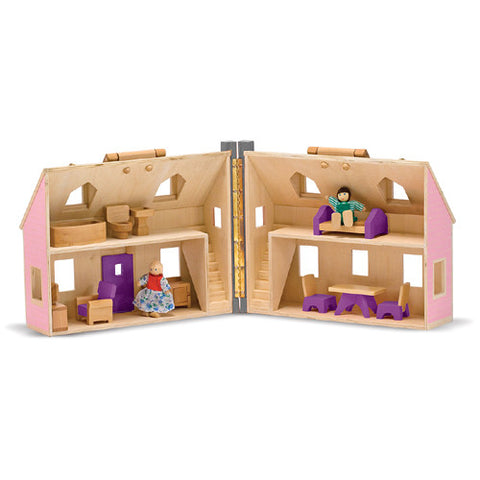 M&D Fold & Go Dollhouse