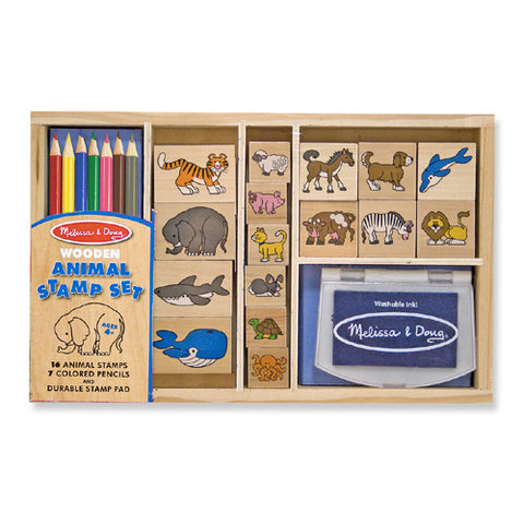 M&D Animal Stamp Set