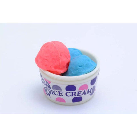 BC USA Ice Cream Cup Eraser