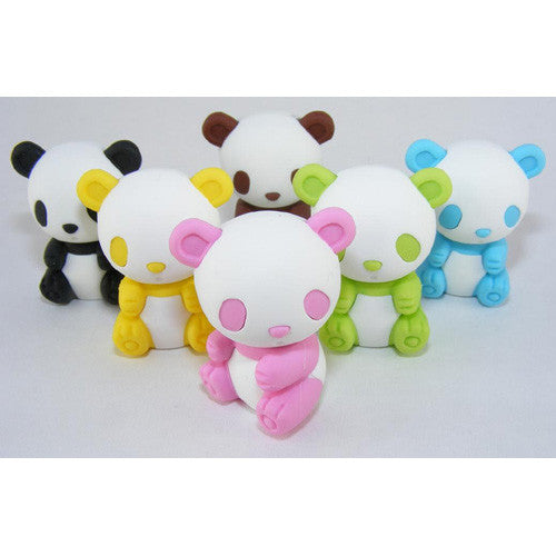 BC USA Mr. Panda Colored Eraser