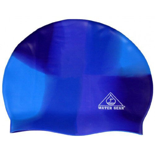 Water Gear Jazz Silicone Cap Blue/Blue