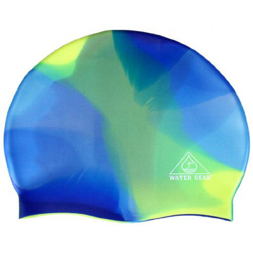 Water Gear Jazz Silicone Cap Blue/Green