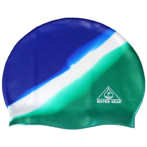 Water Gear Jazz Silicone Cap Blue/Jade