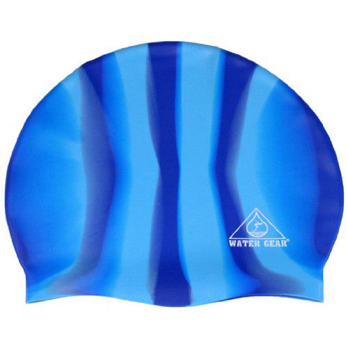 Water Gear Jazz Silicone Cap CBlue/Blue