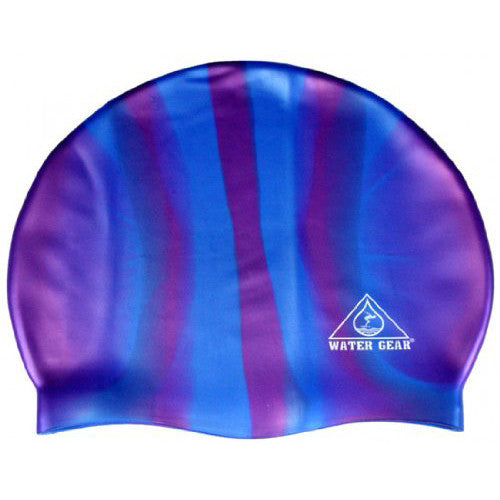 Water Gear Jazz Silicone Cap CBlue/Pink