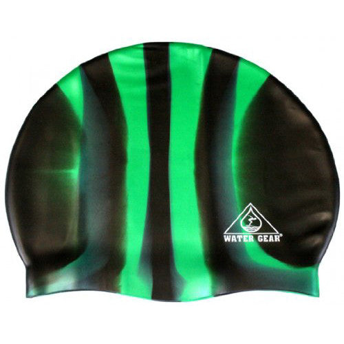 Water Gear Jazz Silicone Cap CGreen/ Black