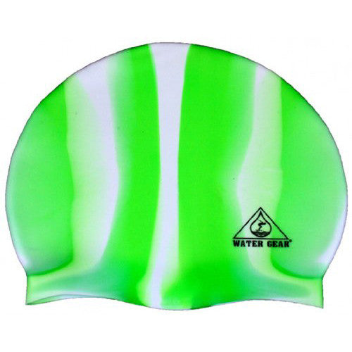 Water Gear Jazz Silicone Cap CGreen/White